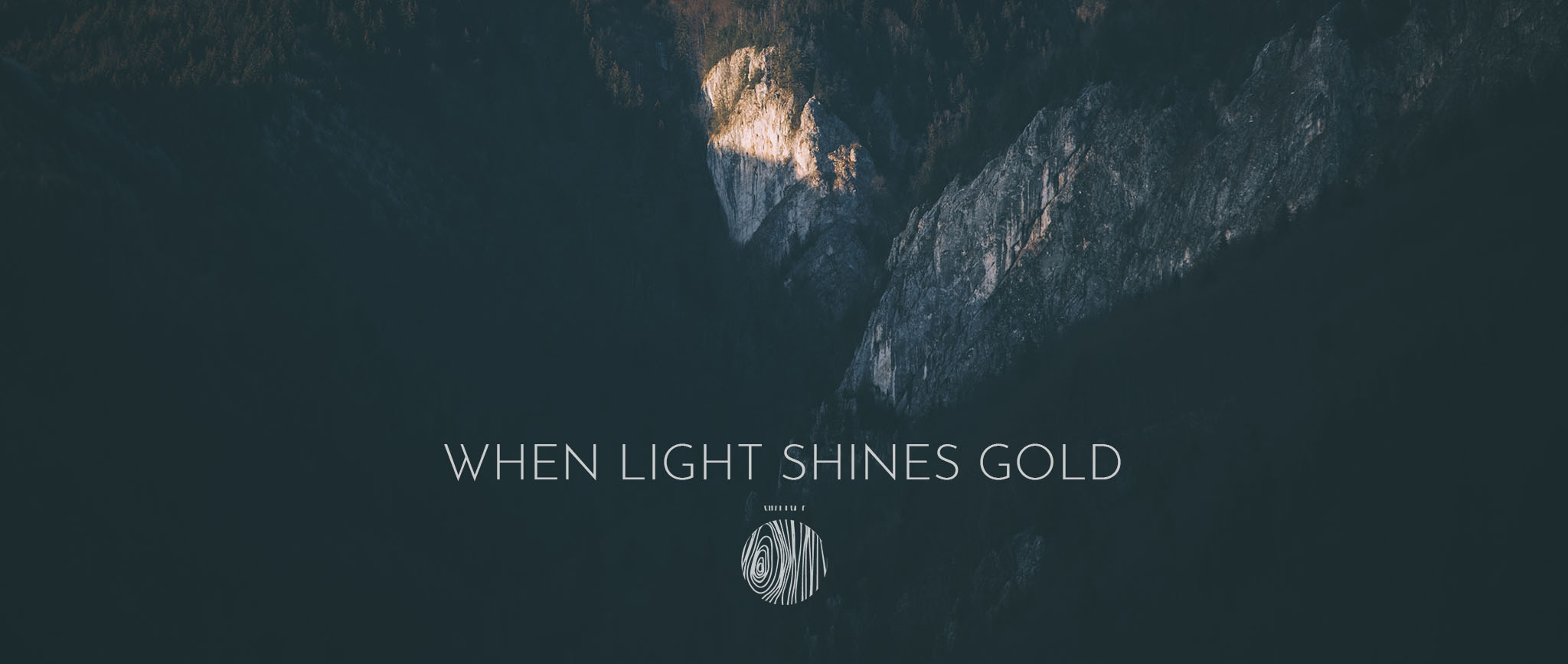 when light shines gold